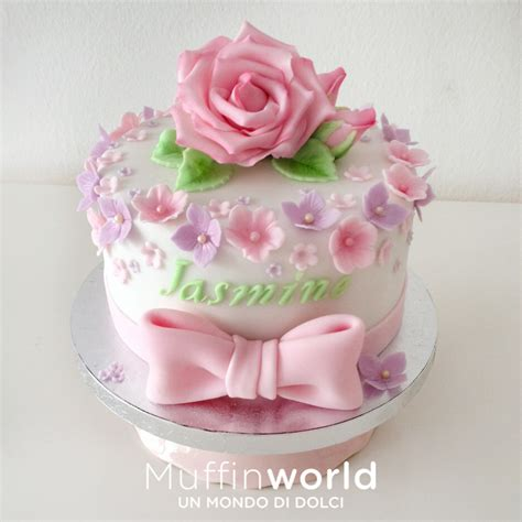 cake design fiori torte decorate muffinworld