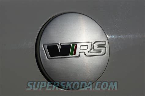 skoda vrs logo octavia iii emblem cover vrs superskoda