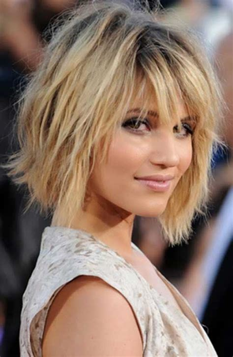 bob haircuts to suit round faces messy blonde layered bob hairstyles for round faces hair