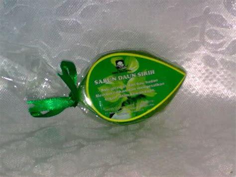 Sabun Daun Sirih sabun sirih untuk perawatan organ kewanitaan