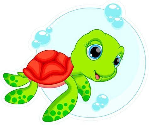 imagenes infantiles tortugas fotomural de dibujos animados lindo de la tortuga pixers