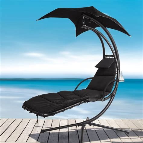 swinging helicopter swing sun lounger hammock seater chair