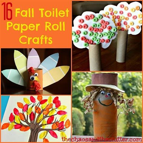 Tissue Paper Roll Crafts - 660 best images about fall theme ideas on