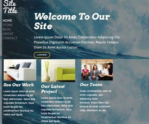 free weebly templates 23 georgeous free weebly themes ginva