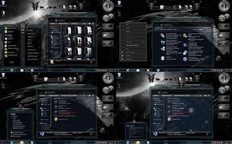 psp themes windows7 windows 7 themes glass black by customizewin7 on deviantart