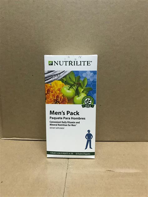 supplement packs nutrilite 174 s pack 30 packets