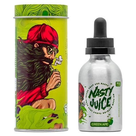 Liquid Premium Juice Series Green Ape juice series green ape 50ml fill e