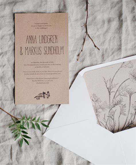 printable invitations with envelopes free printable rustic invitations and envelope liners