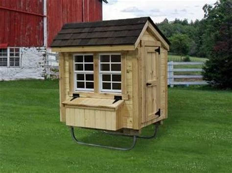 Cottage Co Op by Amish Made Cottage Chicken Coop Kit 3 X 4