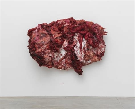 designboom gallery anish kapoor paints fleshy resin silicone series for