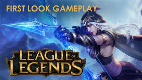 youtube tutorial league of legends league of legends tutorial first look youtube