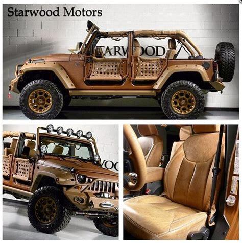 starwood motors jeep white starwood motors custom jeep canyon ranch edition time