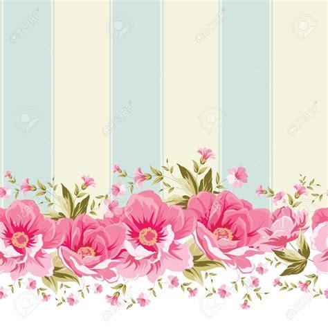 wallpaper floral pink vintage ornate pink flower border with tile elegant vintage