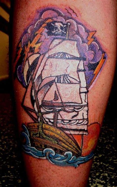 tattoo old school pirate new school pirate ship tattoo by bob heath tattoonow