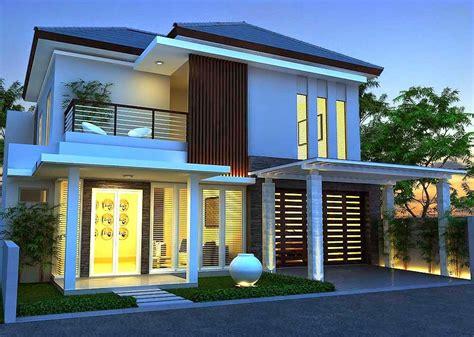 desain rumah minimalis sederhana modern tierbonavi