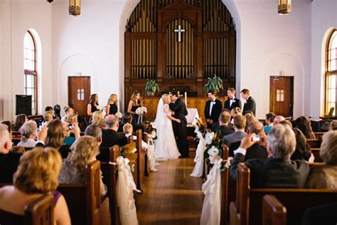 southern wedding st marks united methodist church new orleans