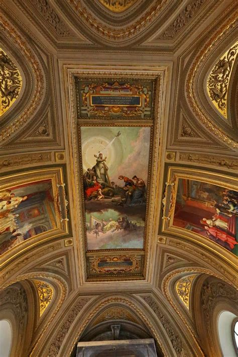 panoramio photo of ceiling in the vatican museum