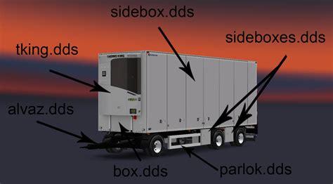 bussbygg  axle drawbar trailer    ets euro