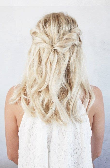easy half up twist hairstyle with braids for american girl 15 flirty and chic christmas half updos styleoholic
