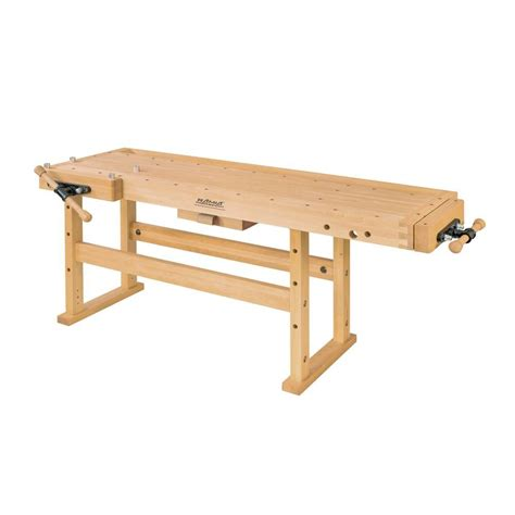 6 ft beech workbench 975 2400 the home depot