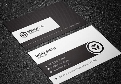 black and white business cards www imgkid com the