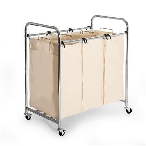 Seville Classics 3 Bag Laundry Sorter She16166 The Home Best Laundry Sorter