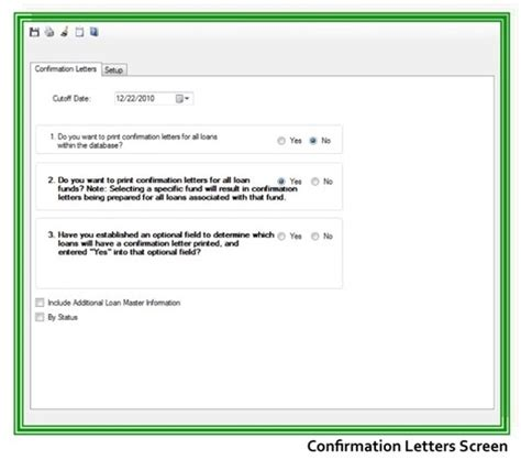 Loan Balance Confirmation Letter Sle Gms Loan Servicing Confirmation Letters