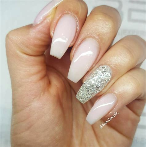 Manicure And Nail glitter nails 11 gorgeous designs for your bridal manicure