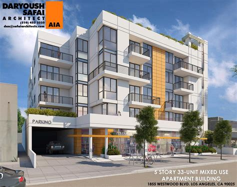 westwood appartments new look for proposed westwood apartments urbanize la