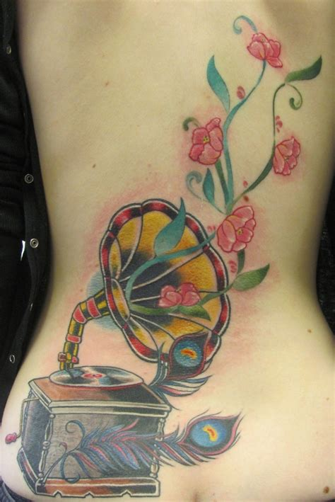 phonograph tattoo 71 best phonograph tattoos images on