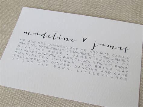 Modern  Ee  Calligraphy Ee    Ee  Wedding Ee    Ee  Invitations Ee   Via Etsy