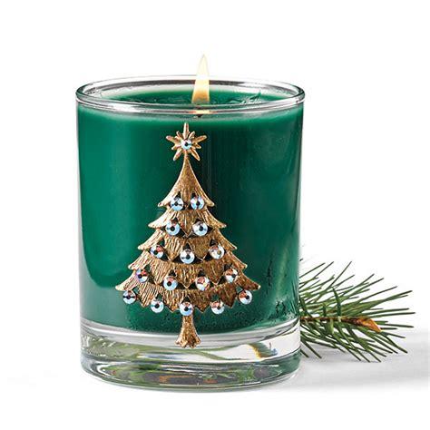 swarovski christmas tree candle gump s