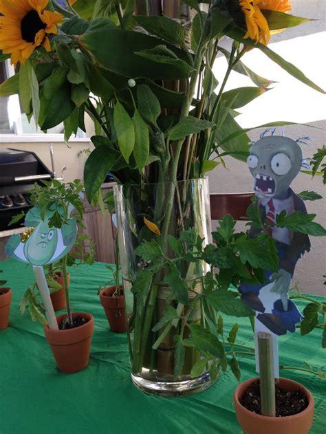 Plants Vs Zombies Decorations by Plants Vs Zombies Birthday Decorations Ideas