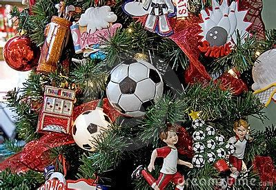 soccer themed christmas tree christmas trees with a