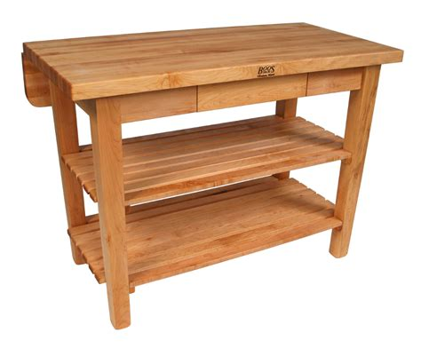 john boos kitchen island bar butcher block table