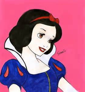 Snow White Necklace Snow White Portrait portrait of snow white by misslautner on portraits