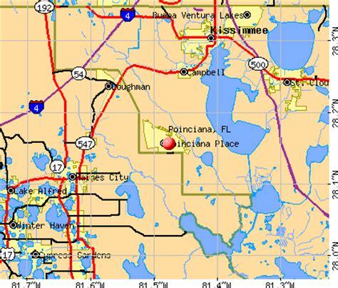 poinciana florida map poinciana florida fl 34759 profile population maps