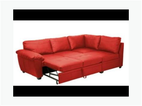 Real Leather Futon by Fernando Genuine Leather Corner Sofa Bed With Storage