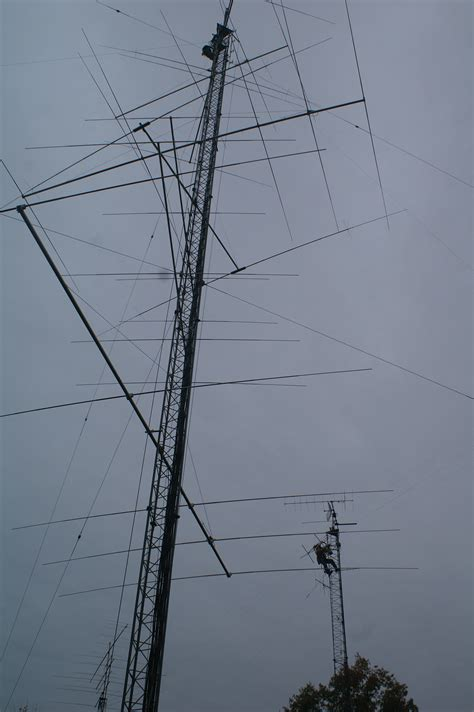 w1aw receives semi annual antenna inspection new antenna for 160 meters