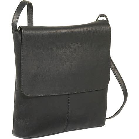 Simple Leather le donne leather simple flap 5 colors cross bag