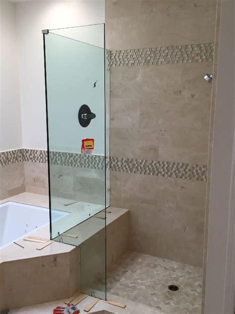 bathtub cutouts corner shower with tub cutout patriot glass and mirror san diego ca