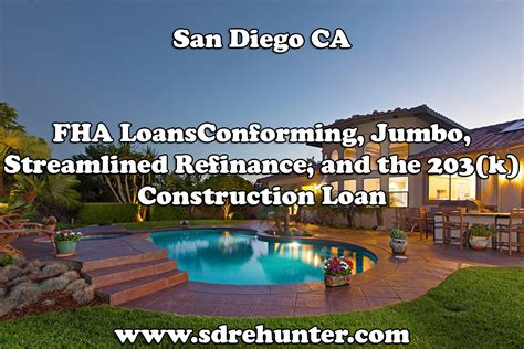 Fha Loan Number Search San Diego Ca Fha Mortgage Loans Conforming Jumbo Refinance 203 K