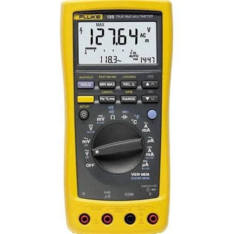 Multimeter Fluke 189 rent or buy a fluke 189 true rms digital multimeter