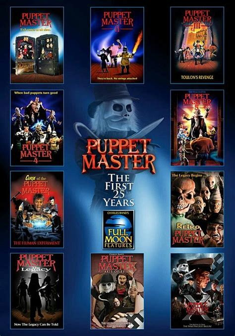 Vol 30 Puppet Masters 11 best puppet master posters images on horror
