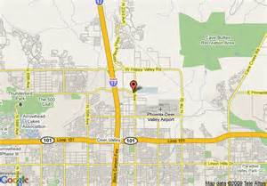west valley arizona map map of garden inn happy valley