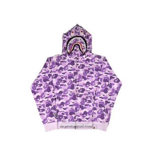 Sale Bape Hoodie Text Colour Purple Camo Mirror Quality 1 1 Original gray box logo pullover supreme hoodie dopestudent