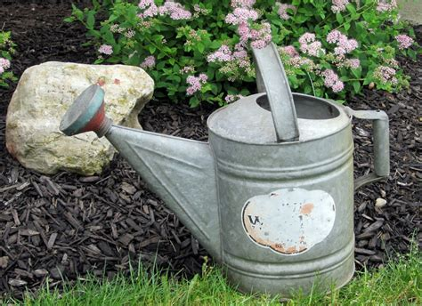 Garden Accessories Vintage Vintage Galvanized Metal Garden Accessories