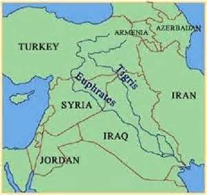 middle east map euphrates river tigris and euphrates rivers are drying up this and that
