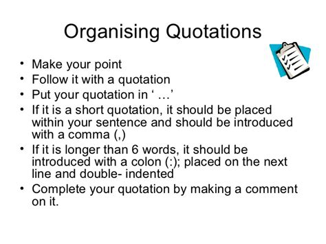 templates for introducing quotes introducing quotations