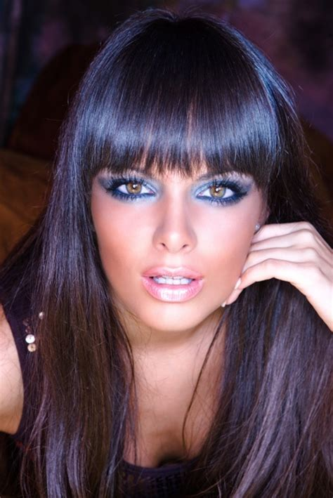ponytail with bangs glam radar 16 great ideas of long hair with bangs glam radar